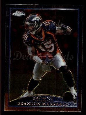 2009 Topps Chrome #101  Brandon Marshall