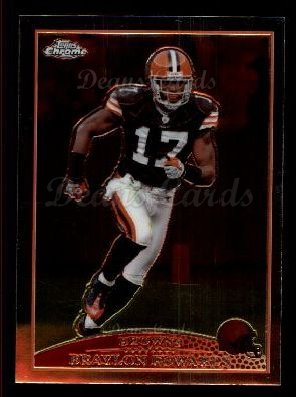 2009 Topps Chrome #104  Braylon Edwards