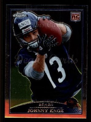 2009 Topps Chrome #202  Johnny Knox