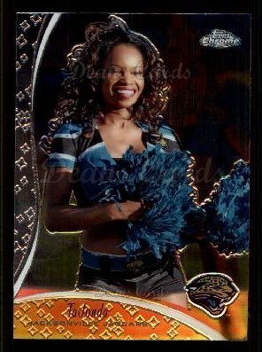 2009 Topps Chrome Cheerleader #7 TCC TaJonda