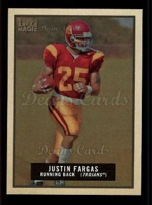 2009 Topps Magic #123  Justin Fargas