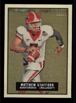 2009 Topps Magic #77  Matthew Stafford