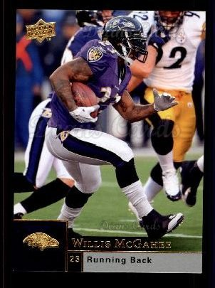 2009 Upper Deck #15  Willis McGahee