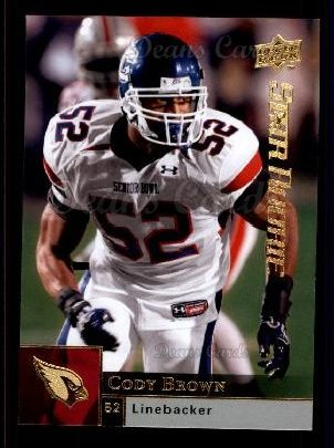 2009 Upper Deck #238  Cody Brown