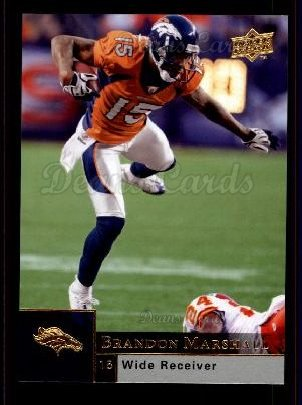 2009 Upper Deck #60  Brandon Marshall