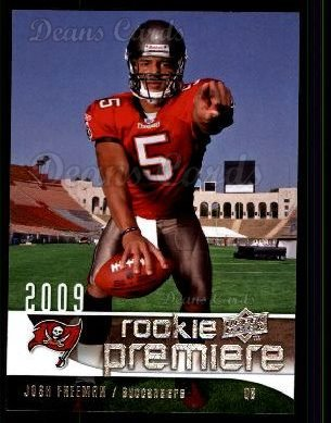 2009 Upper Deck Rookie Premiere #13  Josh Freeman