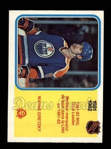 1982 O-Pee-Chee #235   -  Wayne Gretzky League Leaders