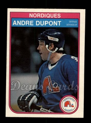 1982 O-Pee-Chee #282  Andre Dupont