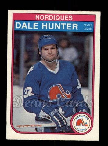 1982 O-Pee-Chee #285  Dale Hunter