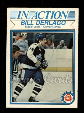 1982 O-Pee-Chee #320   -  Bill Derlago In-Action