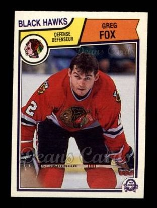 1983 O-Pee-Chee #101  Greg Fox