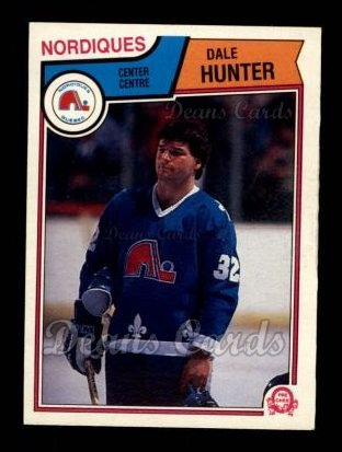 1983 O-Pee-Chee #293  Dale Hunter