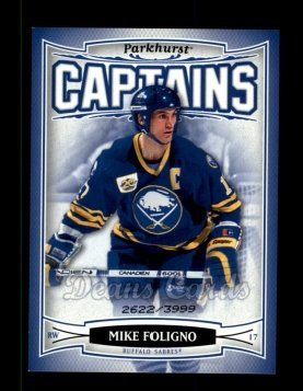 2006 Parkhurst #168  Mike Foligno