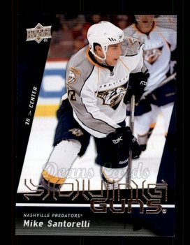 2009 Upper Deck #248   -  Mike Santorelli Young Guns