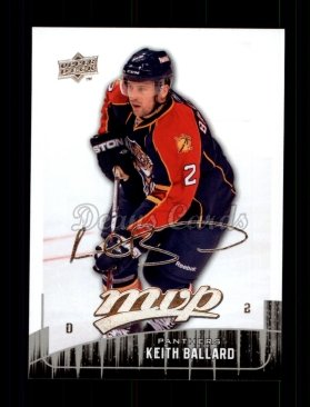 2009 Upper Deck MVP #176  Keith Ballard