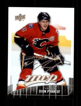 2009 Upper Deck MVP #253  Dion Phaneuf
