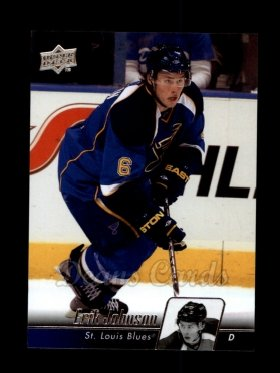 2010 Upper Deck #31  Erik Johnson