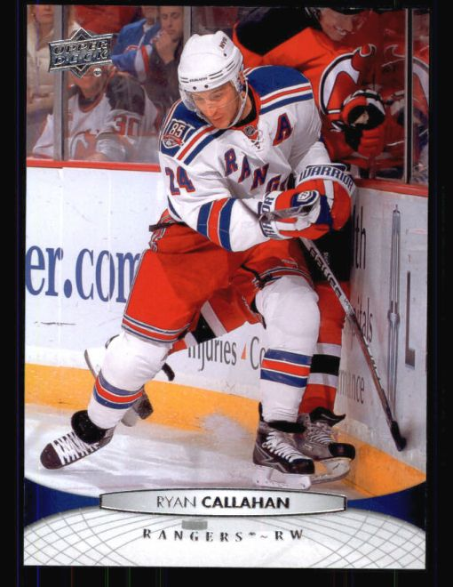 2011 Upper Deck #76  Ryan Callahan