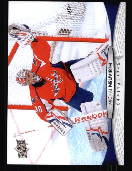 2011 Upper Deck #11  Michal Neuvirth