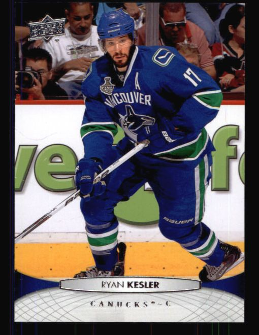 2011 Upper Deck #16  Ryan Kesler