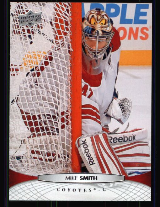 2011 Upper Deck #308  Mike Smith
