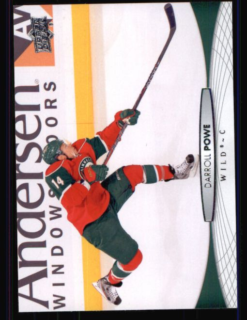 2011 Upper Deck #364  Niklas Backstrom