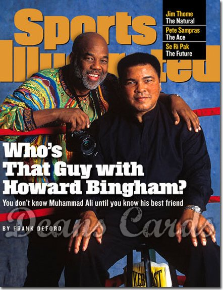 1998 Sports Illustrated - With Label   July 13  -  Muhammad Ali & Howard Bingham