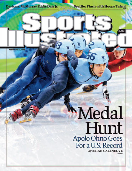 2010 Sports Illustrated - With Label   February 22  -  Medal Hunt