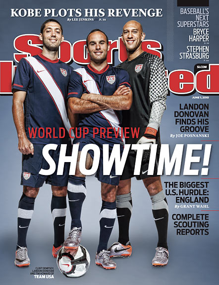 2010 Sports Illustrated - With Label   June 7  -  World Cup Preview