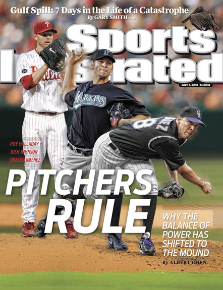 2010 Sports Illustrated - With Label   July 5  -  Pitchers Rule