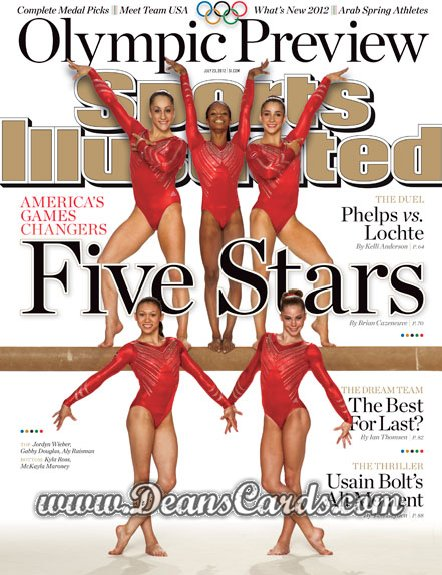 2012 Sports Illustrated - With Label   July 23  -  Five Stars /  London Olympic Games Preview