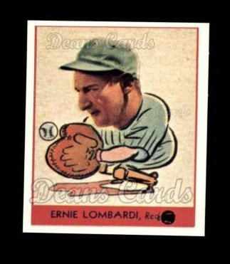 1938 Goudey Heads-Up Reprint #246  Ernie Lombardi
