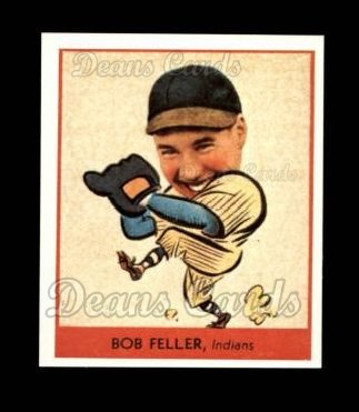 1938 Goudey Heads-Up Reprint #264  Bob Feller
