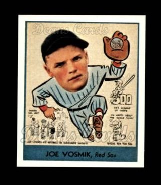 1938 Goudey Heads-Up Reprint #271  Joe Vosmik