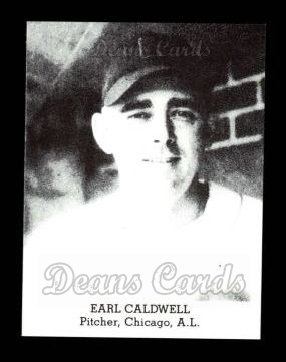 1947 Tip Top Bread Reprint  Earl Caldwell