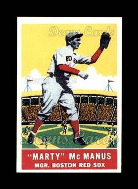 1933 Delong Gum Reprint #1  Marty Mcmanus