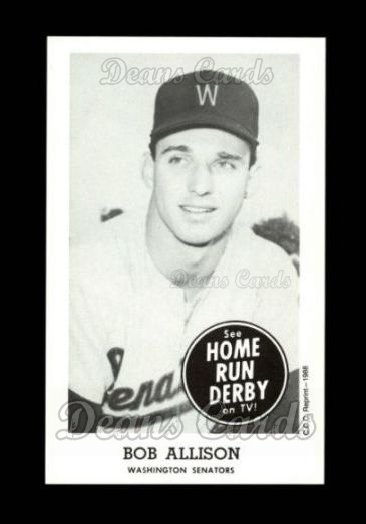 1959 Home Run Derby Reprint #2  Bob Allison