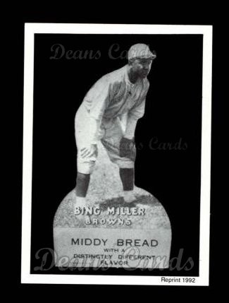 1927 Middy Bread Reprint #34  Bing Miller