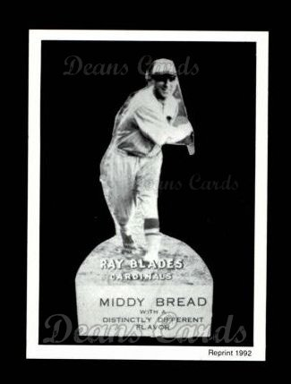 1927 Middy Bread Reprint #4  Ray Blades