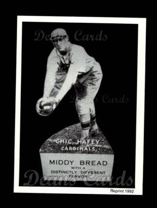 1927 Middy Bread Reprint #9  Chick Hafey