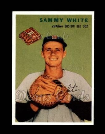 1954 Wilson Franks Reprint #19  Sammy White