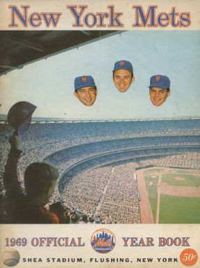 1969 New York Mets Yearbook - Koosman/Grote/Seaver