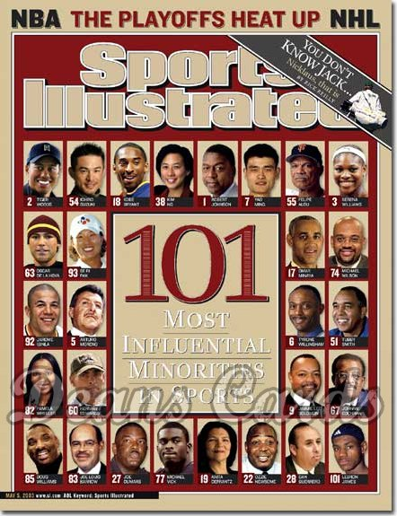 2003 Sports Illustrated - No Label   May 5  -  Influential Minorities in Sports