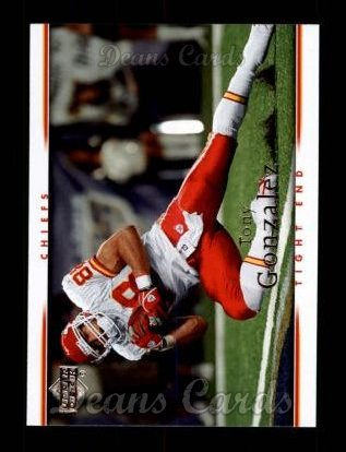 2007 Upper Deck #95  Tony Gonzalez