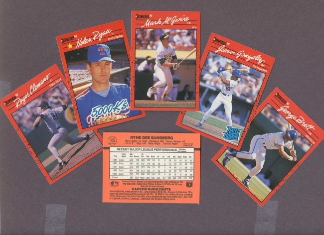 1990 Donruss     Baseball Complete Set