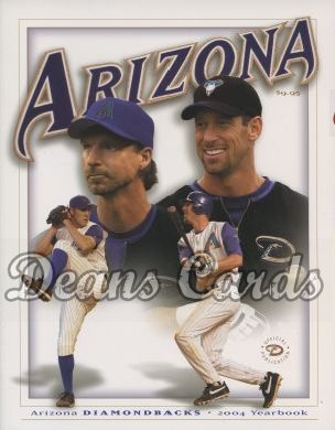 2004 Arizona Diamondbacks Yearbook