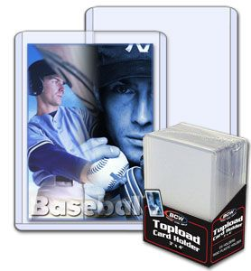 Topload Card Holder 3 x 4 - Pack of 25