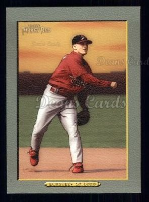 2005 Topps Turkey Red #268  David Eckstein