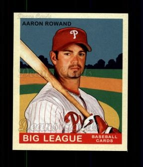 2007 Upper Deck Goudey Red Backs #3  Aaron Rowand