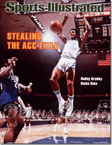 1979 Sports Illustrated - With Label   March 12  -  Dudley Bradley (North Carolina Tar Heels)